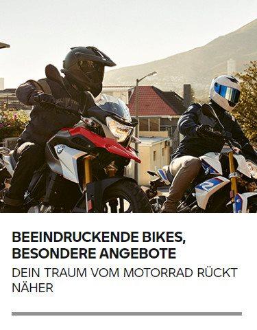 DEIN TRAUM VOM MOTORRAD RÜCKT NÄHER