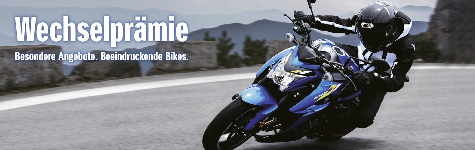 Besondere Angebote. Beeindruckende Bikes.