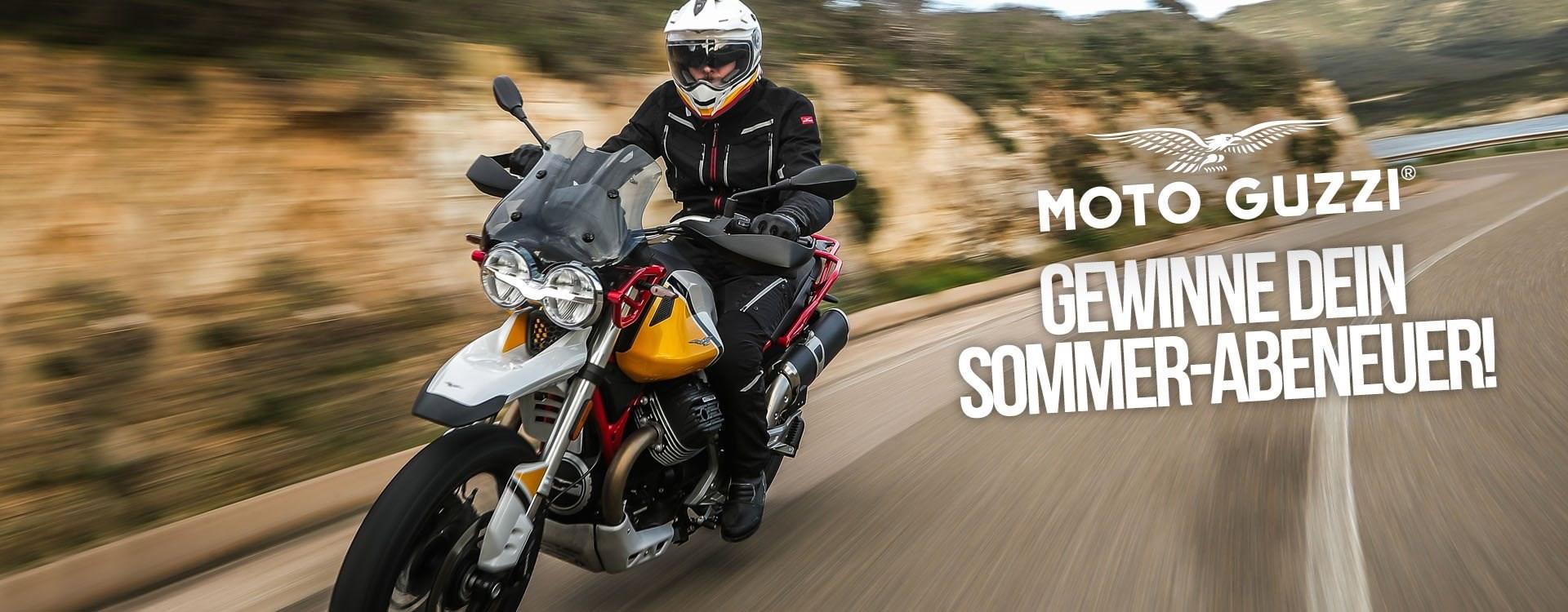 beim Kauf einer Moto Guzzi V85 TT