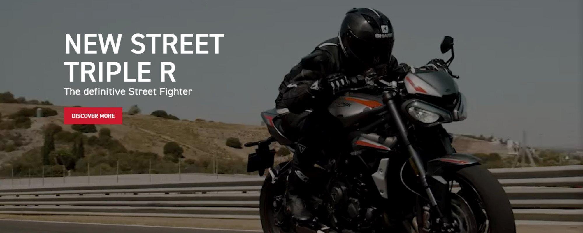 NEW STREET TRIPLE RS