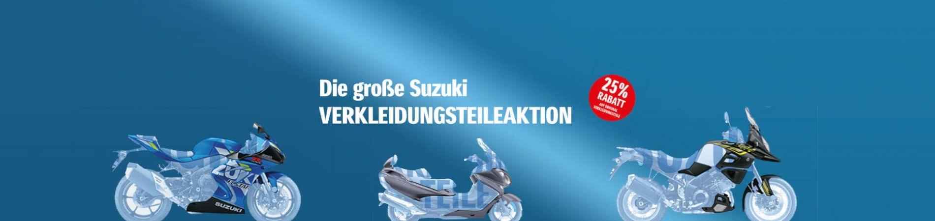 Lassen Sie Ihre Suzuki in neuem Glanz erstrahlen!