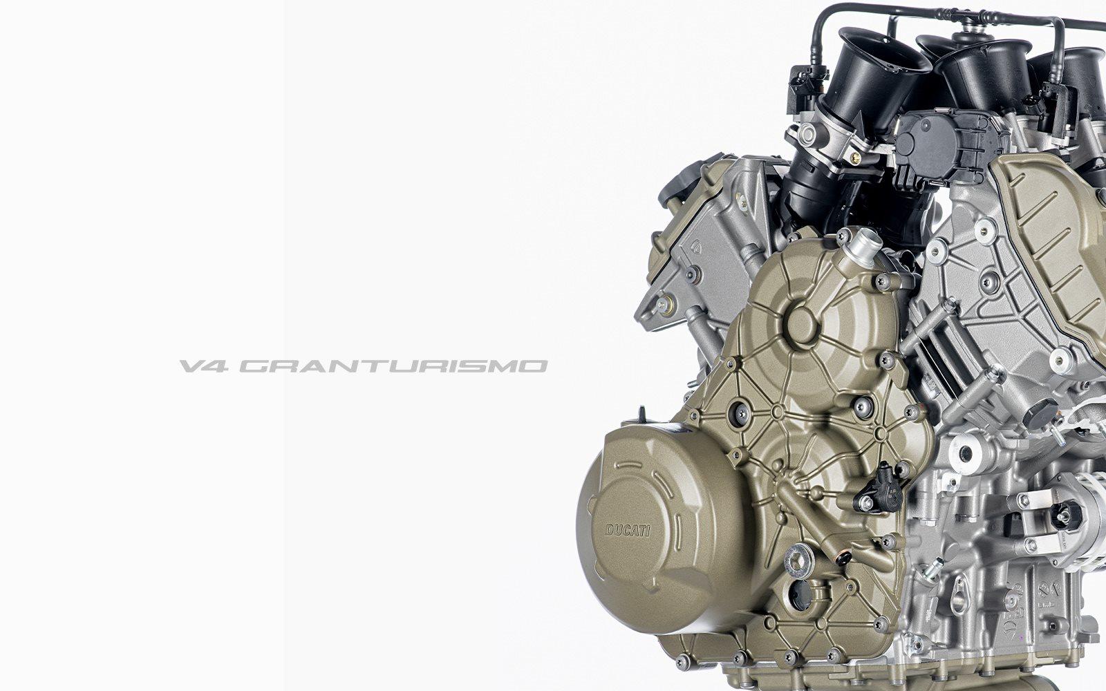 Der neue Ducati Motor. Leicht, schlank und laufruhig. Reaktionsschnell und einfach nicht aufzuhalten.