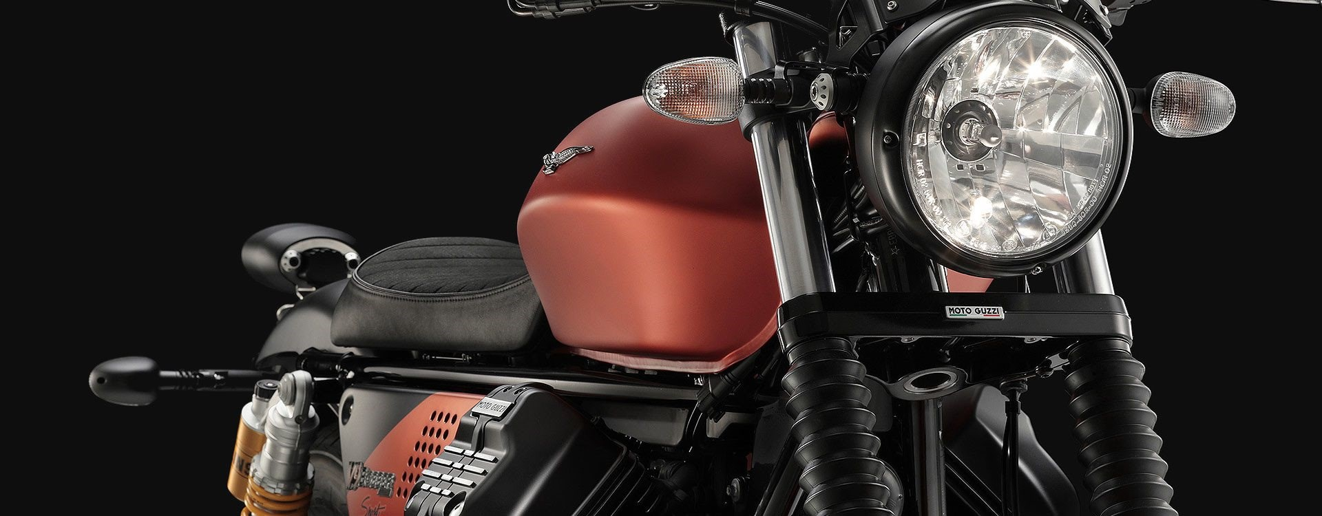 Ein Motorrad mit Charakter und Temperament