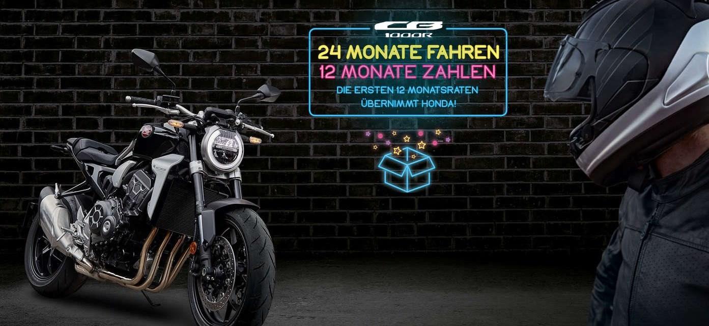 <br><br><br>24 MONATE FAHREN - <br>12 MONATE ZAHLEN