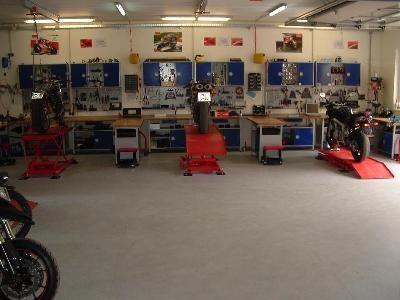Ducati- und Kawasaki-Vertragswerkstätte