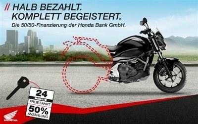 0% Sonderfinanzierung der Honda-Bank