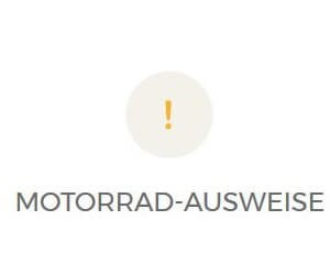 MOTORRAD-AUSWEISE Der Weg zu deinem Motorrad oder RollerFührerausweis wird dir am besten hier erklärt. Drücke auf das L-Schild und schon werden dir deine Fragen schnell und präzis beantwortet.FAHRLEHRER BEI FAHRZEUGÜBERNAHMEWir empfehlen di...