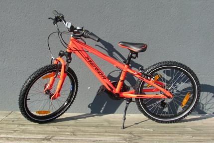 Merida Matts J.20 Bremse: Shimano RevoShiftFarbe: neon orange