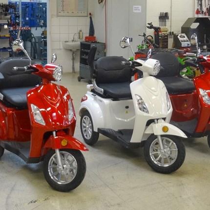 E-Bikes Elektro-Dreiräder