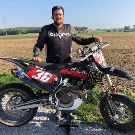 Kevin Kepold auf einer Husqvarna FS 450 2019 sowie auf einer Husqvarna FC 250 2019 !!!