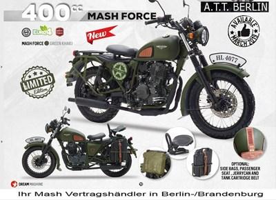 Mash Force 400 - Military Look-ein wenig verrückt