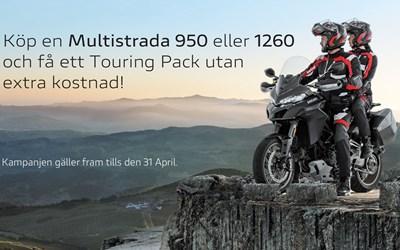 Kampanj Multistrada 950 och 1260!