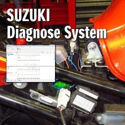 Bei entsprechend ausgerüsteten SUZUKI Motorrädern mit Einspritzsystem und/oder ABS können wir über unser SUZUKI Diagnose System aktuelle Motor- und ABS-Messwerte sowie Fehlermeldungen (F1 Fehler) auslesen und effizient beh...