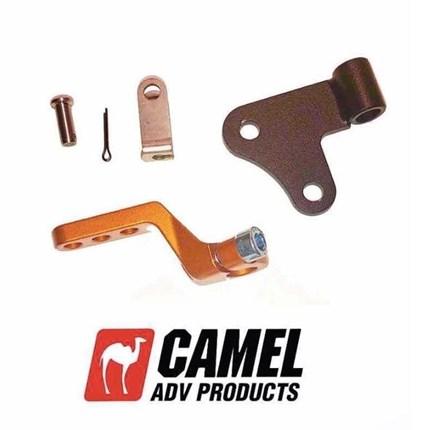 """Camel ADV 1 Finger Kupplungs-Hebel  790 Adventure/R      Leichte Kupplungsbetätigung für die 790 Adventure / RDieser längere Kupplungsarm am Eingang der Kupplungreduziert die benötigte Kraft zur Betätigung der Kupplung.Dadurch kannst Du den Kupplungshebel deiner 790er """"locker..."""