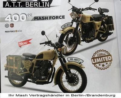 Mash Force -Military Look in beige -der Knaller!