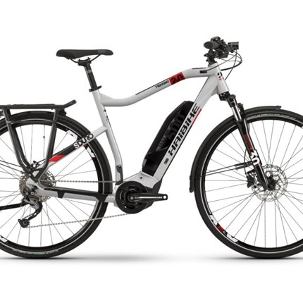"Haibike SDURO Trekking 2.0, HE 52; Gr.M Haibike SDURO Trekking 2.0500Wh, 10-G, 28""Größe: M, HE 52 cm  Rahmen:  Aluminium 6061, Scheibenbremse Post Mount Motor: Yamaha PW-SE System, 250W, 70Nm, 25km/h Display: Yamaha Side Switch 1.7"", LCD, 7 Funktionen Batterie: ..."