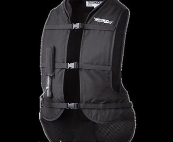 Die Besonderheit der TURTLE Weste ist ihr Aufbau. Der hochwertige Sas-Tec Rückenprotektor ist wie ein Schildkrötenpanzer über dem Airbag angebracht. Helite ZeichnungDadurch werden neben dem Schutz durch den Airbag an sich ...
