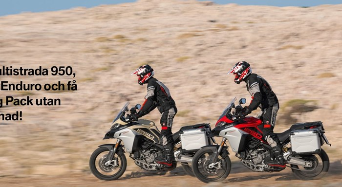 Multistrada Touring Pack