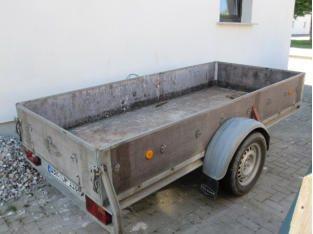 Transportanhänger Zul. Gesamtgewicht 1300kgTag30,00 €Wochenende60,00 €bis 1 Woche130,00 €