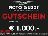 Moto Guzzi €1000,- Gutschein!