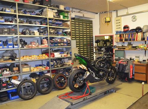 Unser Service Motorrad Schenk