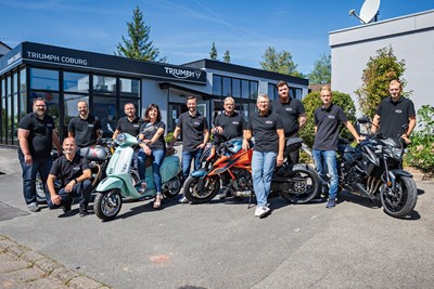 Triumph World Obefranken