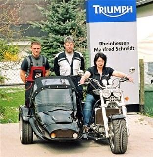Triumph Rocket III-Armec-Gespann