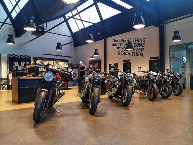 Triumph Flagshipstore Nl Dortmund