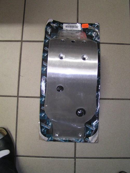 Neuteil Motorschutzplatte KX 250 F