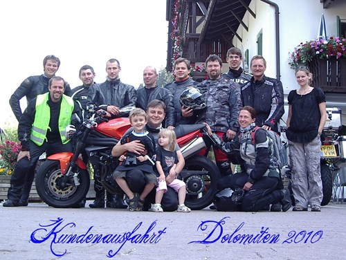 Dolomitenausfahrt 2010