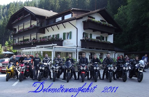 Dolomitenausfahrt 2011