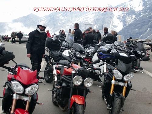 Ausfahrt nach Österreich 2012
