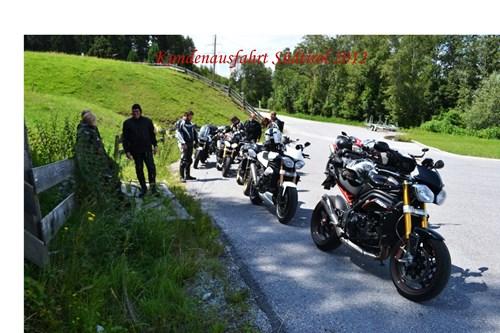 Ausfahrt ins Trentino 2012