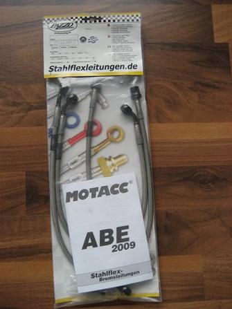 Pazzo Stahlflex Kawa Z750 ||99 €