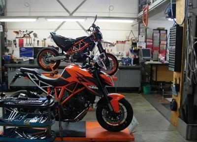 Motorrad Service