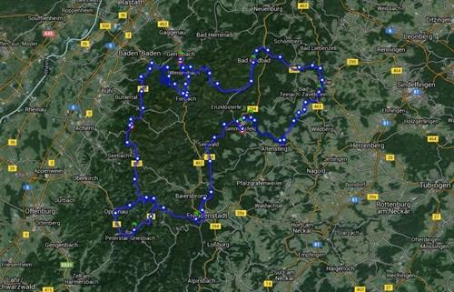 Nordschwarzwald Tour