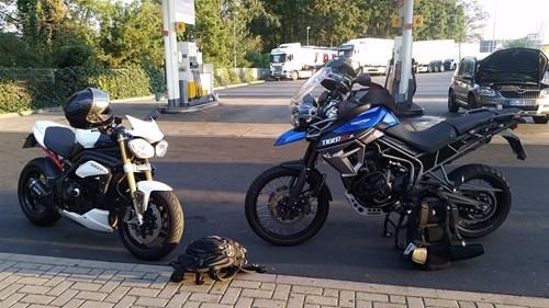 Harz => Thüringer Wald => Sauerland Tour 2015