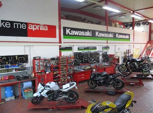 Unser Service Motorrad Schäfers