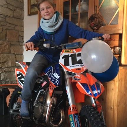 Justus John #112 Rennserie: Landesmeisterschaft Sachsen AnhaltFahrzeug: KTM 85 SX