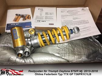 Öhlins TTX GP Triumph Daytona 675/R|| 995 €