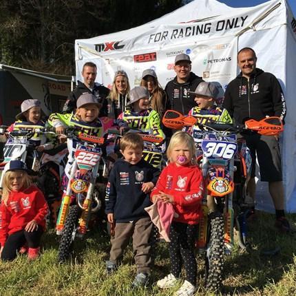 ETS-Racingteam #712 Toni Ziemer     #222 Emil Ziemer        #306 Lyonel Reichel   #10   Louis Wolff