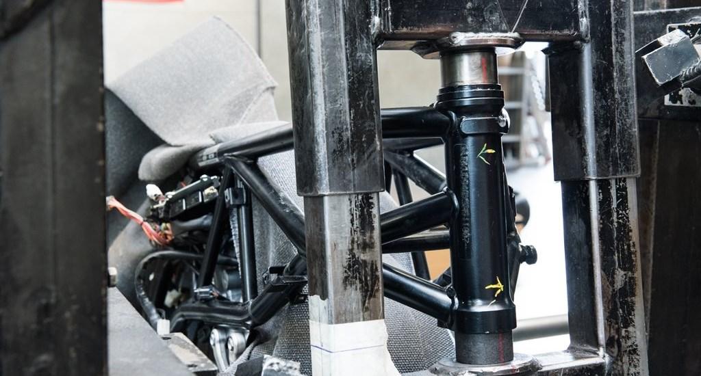Richten - Reparatur von Rahmen, Gabel, Felge, Bremsscheibe ...