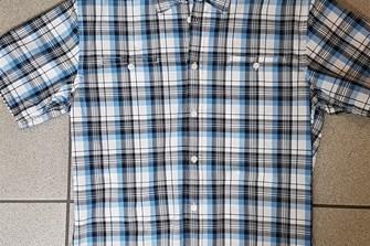 Checked Shortsleeve Shirt M