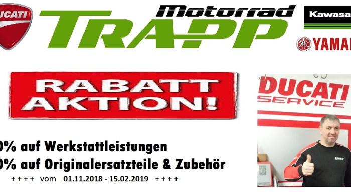 Werkstatt-Rabattaktion
