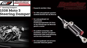 WP 1508 Moto 3 Lenkungsdämpfer