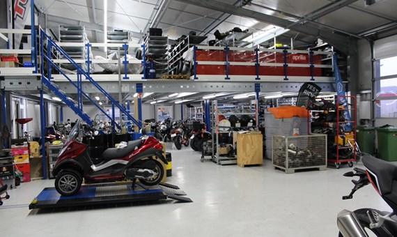 Unternehmensbilder Motorradcenter Benedini 2