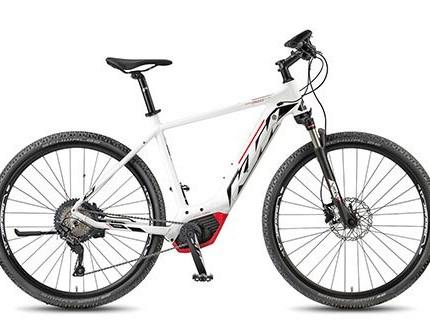 KTM Macina Cross 11CX5 Reifen: Schwalbe Smart Sam PerformGewicht:22.1 kgArt:E-BikeSchaltwerk:XTRahmenform:HerrenRahmengröße:51cmMotor: Bosch Drive Unit 36V-250W / 25km/hBatterie: Powertube 13.4Ah - 500W