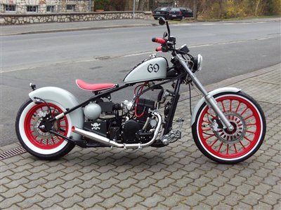 Angebot Regal Raptor Bobber 125