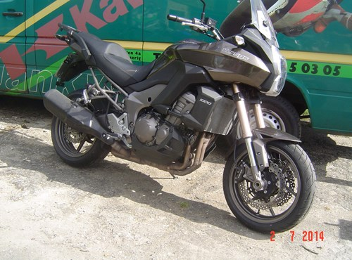 GEBRAUCHTE Kawasaki Versys 1000