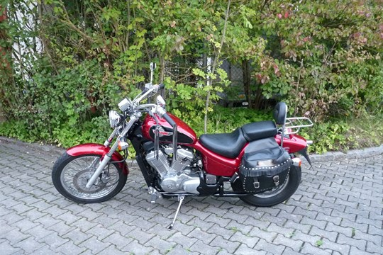 gebrauchte honda vt600c shadow erstzulassung 1996 52300 km preis eur aus bayern. Black Bedroom Furniture Sets. Home Design Ideas